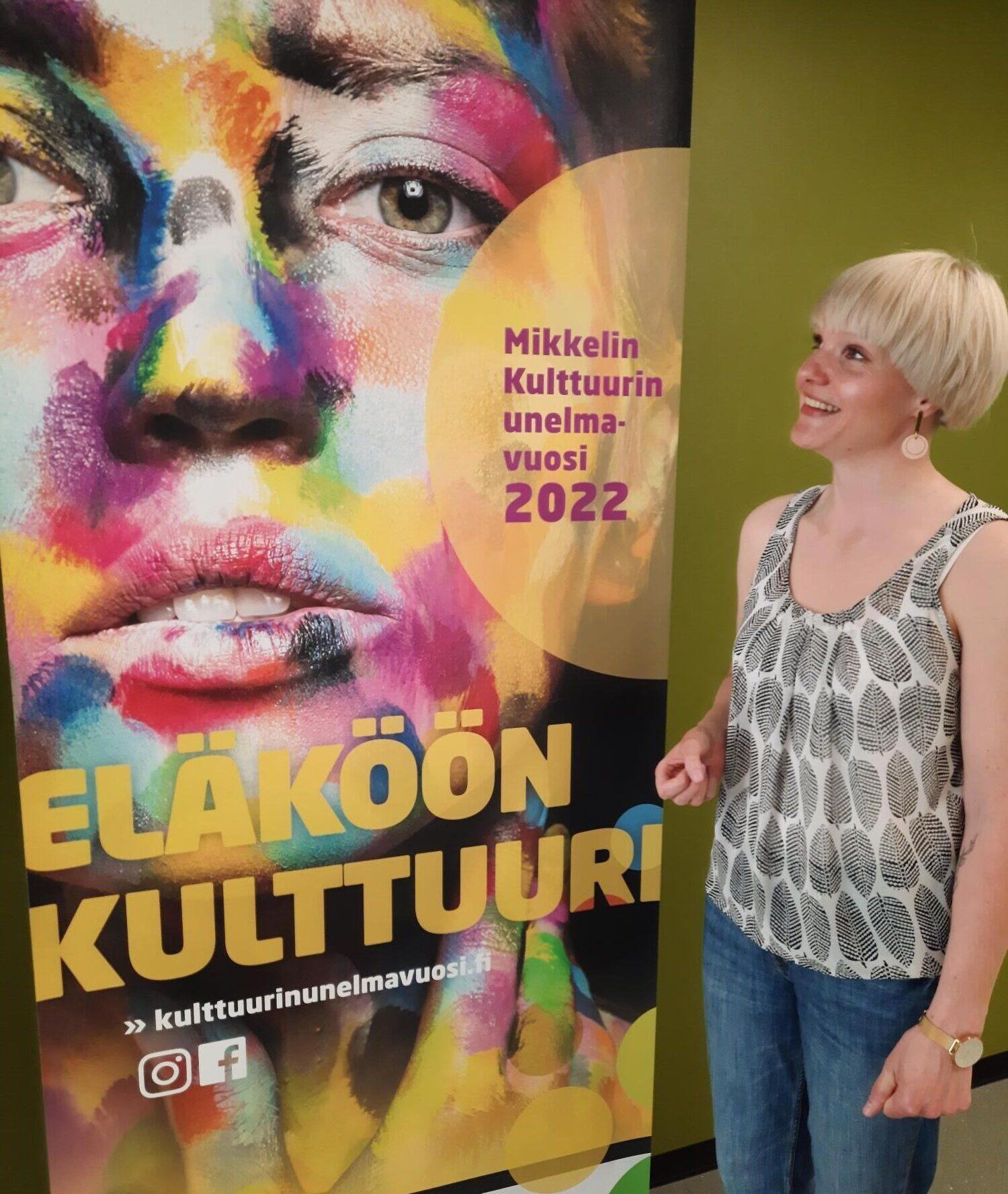 Tule Kulttuurin unelmavuoden työpajaan Hulivilikarnevaaleissa
